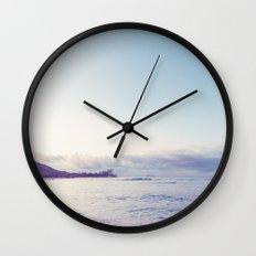 beach time ver.pink Wall Clock