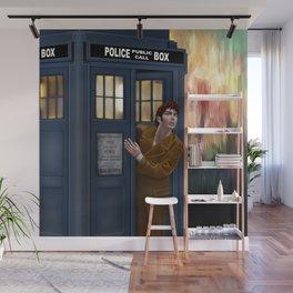 10th Doctor Shockface Wall Mural