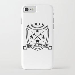 NadinaIA iPhone Case