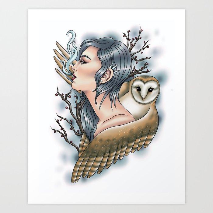 Winter Kunstdrucke