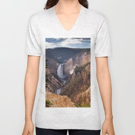 Yellowstone Grand Canyon Unisex V-Neck