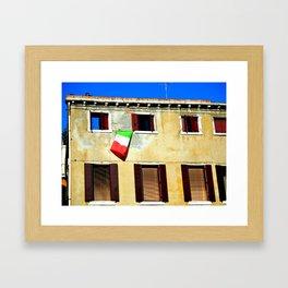 Viva L'Italia Framed Art Print