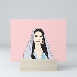 Lana DelRey Mini Art Print