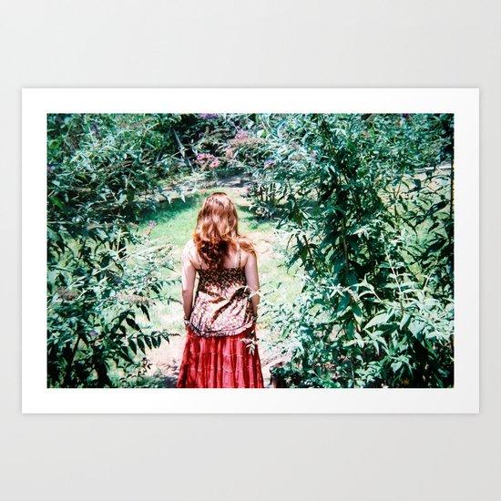 Bliss Forest Art Print