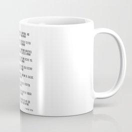 Do It Anyway by Mother Teresa 3 #minimalism #inspirational Coffee Mug