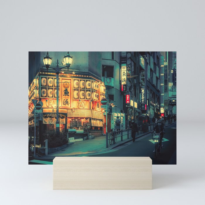 Surreal Fantasy/ Japan Photo Night Mini Art Print