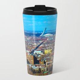 Montreal Skyline Travel Mug