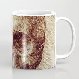 Da Vinci skeleton Coffee Mug