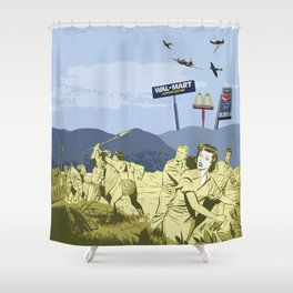 Who's the Savage Now? Shower Curtain