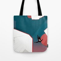 mad men Tote Bags featuring Mad Men by PIXERS