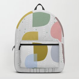 Mid century temporary art VIII Backpack