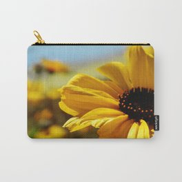 Sunshine & Daisies Carry-All Pouch