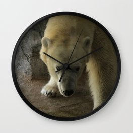 Anana the Polar Bear Wall Clock