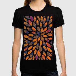 Watercolor brush strokes - rusty effect T-shirt