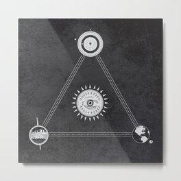 Cosmic Trinity Metal Print