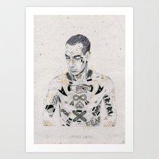 Smokin' Jacket Art Print