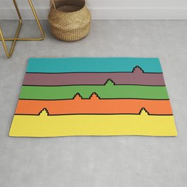 Colored Fields Rug