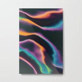 Fruity Fluids Metal Print