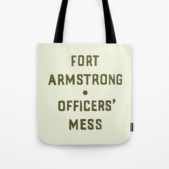 Fort Armstrong Tote Bag