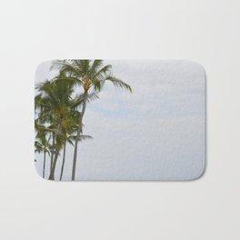 Palm Trees in Hawaii Bath Mat
