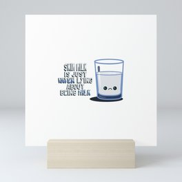 Skim Milk Mini Art Print