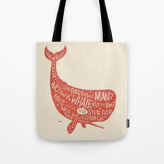 'How the Whale Got His Throat' Tote Bag