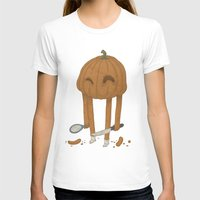 pumpkin T-shirts featuring Pumpkin by Gabor Nemethi