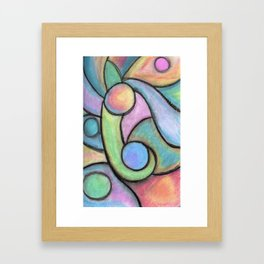All the Colors Fade when your Away Framed Art Print