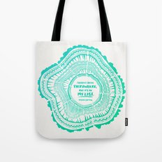 My List – Turquoise Ombré Tote Bag