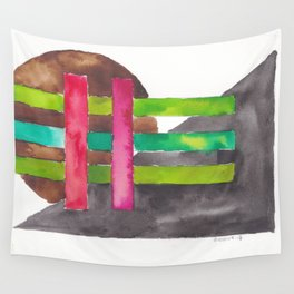 180819 Geometrical Watercolour 7 Wall Tapestry