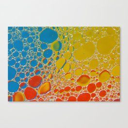 Bubbling Up Canvas Print