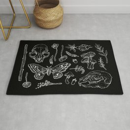 Witchcraft II [Black] Rug