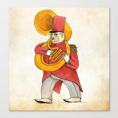 García, tuba Canvas Print