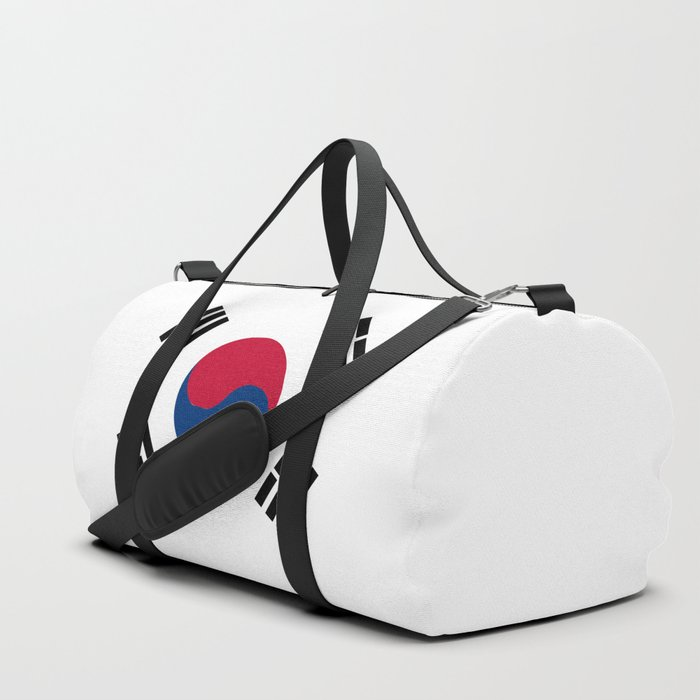 South Korean Flag Duffle Bag