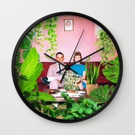 Modern Love Wall Clock