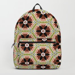 Ditsy darling folk art flower Backpack
