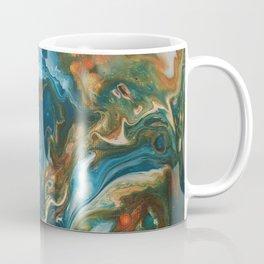 Teal Granite Coffee Mug