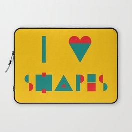 I heart Shapes Laptop Sleeve