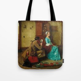 THE SILHOUETTE by NORMAN ROCKWELL Tote Bag