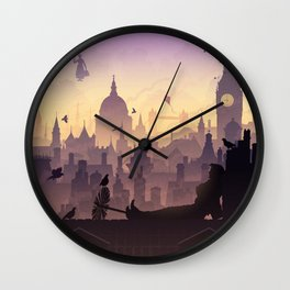 Wind's In The East... Wall Clock