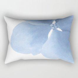 Pansy Flower. Big blue flower Rectangular Pillow