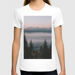 Faraway Mountains - Landscape and Nature Photography T-shirt