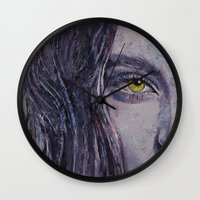 siren Wall Clocks featuring Siren by Michael Creese