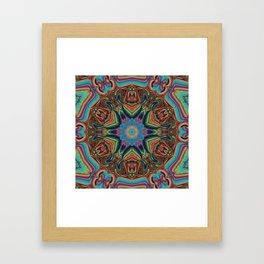 Shielded Framed Art Print