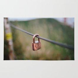 Love Lock // San Francisco, California Rug