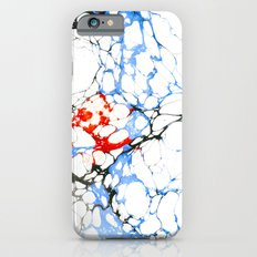 Marble White Blue Red Black iPhone 6s Slim Case