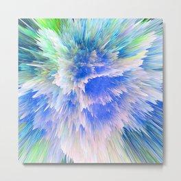 """""""Unbreakable Spirit"""" Abstract Design Metal Print"""