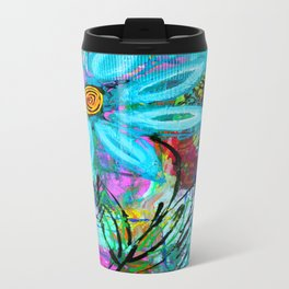 Party Flower Travel Mug