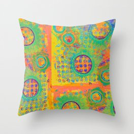 Moonscape Throw Pillow