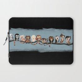 Doctor Hoo - Painted Version Laptop Sleeve